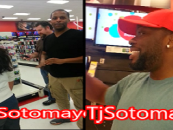 While Shooting A Target Commercial The Film Crew Recognizes Tommy Sotomayor! (Video)
