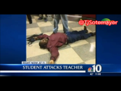 Teacher Knocked Out Cold During Encounter With Teenage Madden King At Bartram High School {Video}