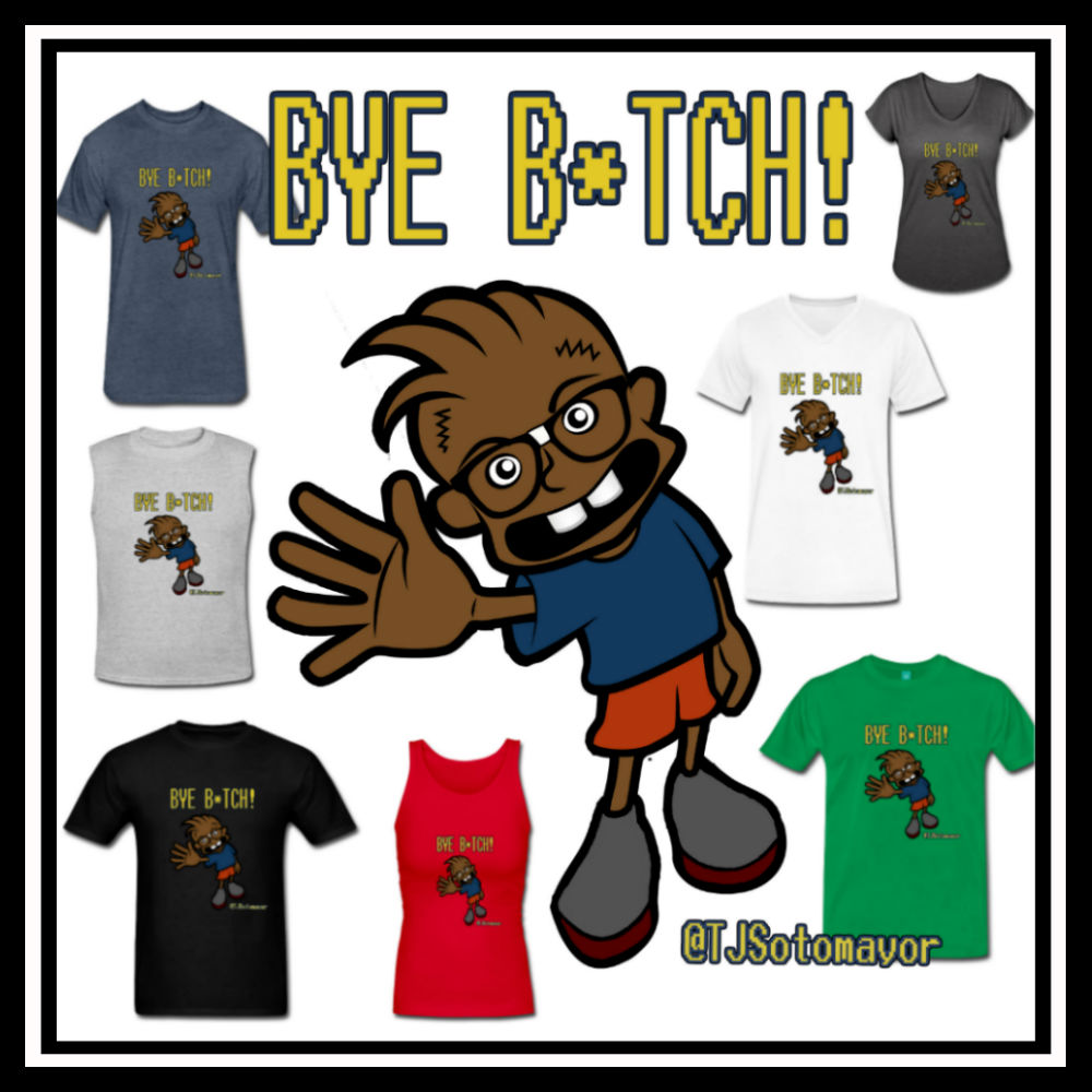 bye biitch collage