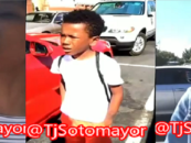 Black BT-1000 Goes Off On Whites & Gays Because Her Son Hit Hispanic Dudes Car Door! (Video)