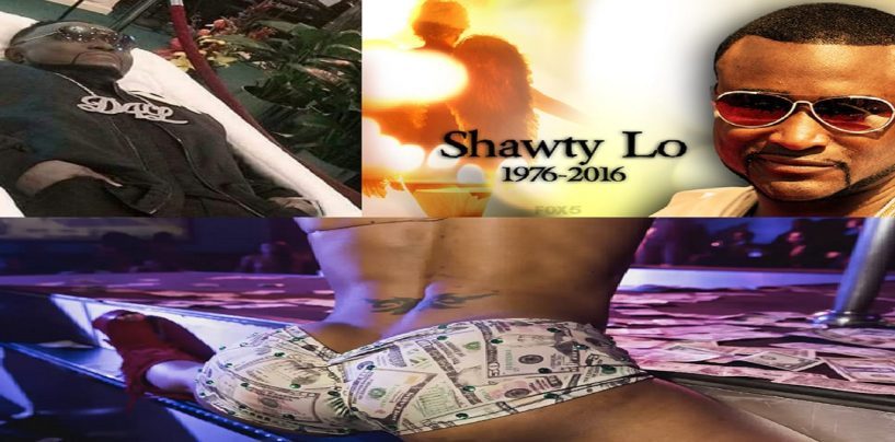 Atlanta Rapper Shawty Lo's Dead Body Taken To Strip Club For One Last Goodbye! (Video) #IShitUNot