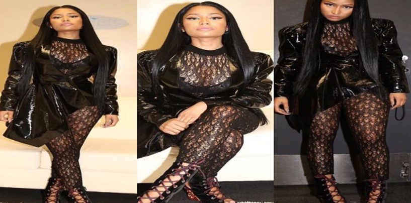 BT-1000 Rapper Nicki Minaj Endorses Hillary Clinton & Disses Donald Trump's Beautiful White Wife! (Video)