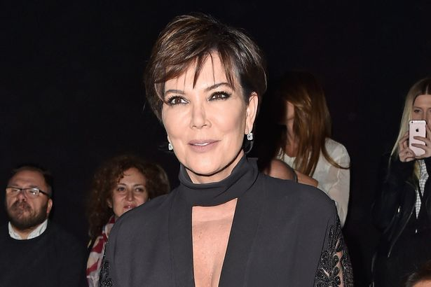 Kris Jenner attends the Elie Saab show as part of the Paris Fashion Week Womenswear Fall/Winter 2016/2017