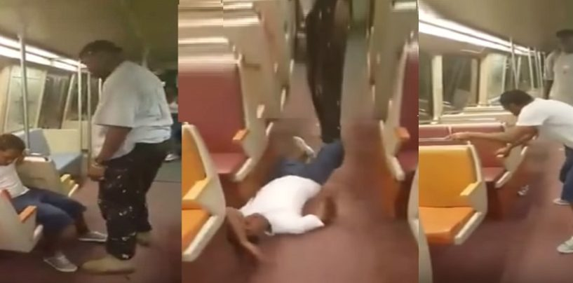 Teenage Gang Member Tries To Talk Crap To 54 Year Old Man & Gets Beat Down! (Video)